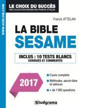 La bible SESAME (2017) - Couverture - Format classique