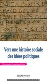 Vers une histoire sociale des idées politiques - Couverture - Format classique