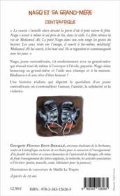 Nago et sa grand mere ; centrafrique - 4ème de couverture - Format classique