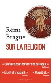 Sur la religion - Couverture - Format classique