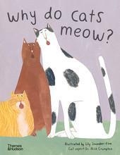 Why do cats meow?: curious questions about your favourite pet /anglais - Couverture - Format classique