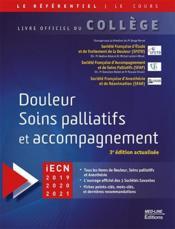 College douleur soins palliatifs - Couverture - Format classique
