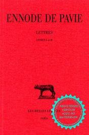 Lettres. livres i et ii - Intérieur - Format classique