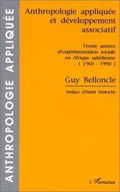 Anthropologie appliquée et développement associatif - Intérieur - Format classique