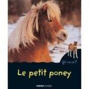 Le Petit Poney - Couverture - Format classique