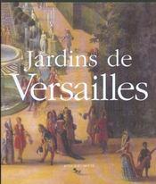 Jardins de Versailles - 4ème de couverture - Format classique