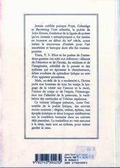 Poesie (broche) - 4ème de couverture - Format classique