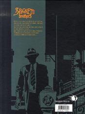 Spaghetti brothers t.15 - 4ème de couverture - Format classique