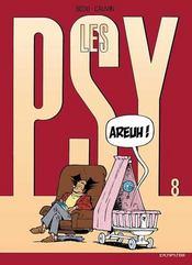 Les psy t.8 ; arheu - Intérieur - Format classique