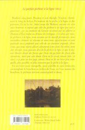 Le Parfait Pecheur A La Ligne Ou Le Divertissement Du Contemplatif - 4ème de couverture - Format classique