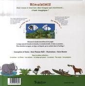 La jungle - 4ème de couverture - Format classique