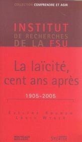 Laicite, cent ans apres - Intérieur - Format classique