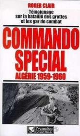 Commando special, algerie 1959-1960 - Couverture - Format classique