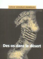 Des os dans le désert - Intérieur - Format classique