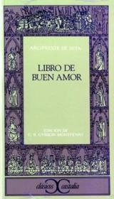 Libro del buen amor - Couverture - Format classique