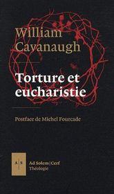 Torture et eucharistie - Couverture - Format classique