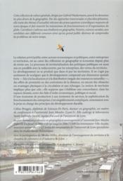 Entreprises et territoires - 4ème de couverture - Format classique
