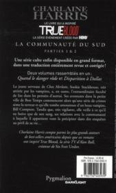 Trueblood - la communauté du sud ; intégrale t.1 et t.2 - 4ème de couverture - Format classique