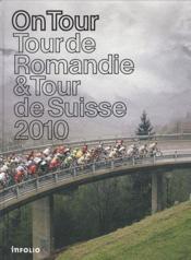 On tour ; tour de Romandie ; tour de Suisse - Couverture - Format classique