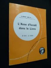 L'âme d'Israël dans le livre - Couverture - Format classique