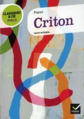 Criton - Couverture - Format classique