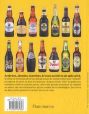 Les 1001 bières qu'il faut avoir goûtées dans sa vie - 4ème de couverture - Format classique