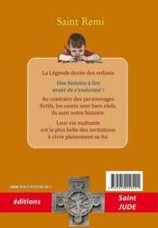 Saint Rémi ; le baptême de la France - 4ème de couverture - Format classique