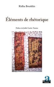 Éléments de rhetorique - Couverture - Format classique
