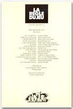 Revue La Regle Du Jeu N.7 - Couverture - Format classique