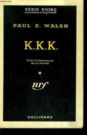K.K.K. Collection : Serie Noire N° 423 - Couverture - Format classique