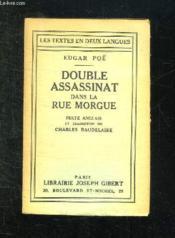 The Murders In The Rue Morgue. Double Assassinat Dans La Rue Morgue. - Couverture - Format classique