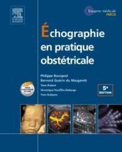 Échographie en pratique obstétricale - Couverture - Format classique