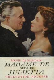 Madame de... suivi de Julietta. - Couverture - Format classique