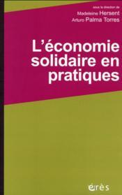 L'économie solidaire en actions - Couverture - Format classique