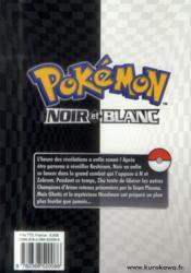 Pokémon - noir et blanc T.9 - 4ème de couverture - Format classique