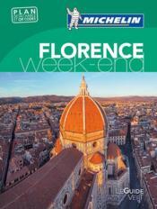 Le guide vert week-end ; Florence - Couverture - Format classique