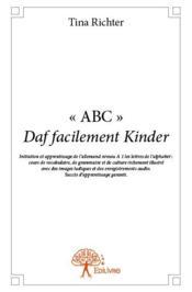 « ABC » daf facilement kinder - Couverture - Format classique