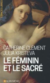 Le féminin et le sacré - Couverture - Format classique
