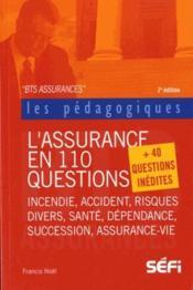 L'assurance en 110 questions ; BTS (2e édition) - Couverture - Format classique