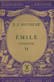 Emile / Rousseau, Jean-Jacques / Réf25614 - Couverture - Format classique