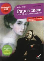 Pauca meae ; les contemplations livre IV - Couverture - Format classique