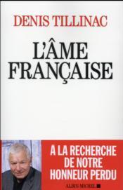 L'âme française - Couverture - Format classique