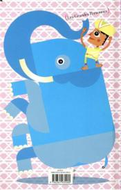 Un éléphant dans un palais de porcelaine - 4ème de couverture - Format classique