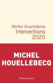 Interventions 2020 - Couverture - Format classique