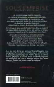 Sous emprise ; le témoignage glaçant de l'ex-compagne de Piotr Pavlenski - 4ème de couverture - Format classique