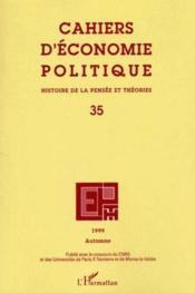 Cahiers D'Economie Politique N.35 ; Histoire De La Pensée Et Théories - Couverture - Format classique