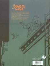 Spaghetti brothers t.16 - 4ème de couverture - Format classique