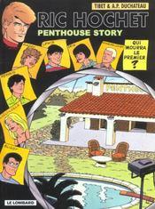 Ric Hochet T.66 ; penthouse story - Intérieur - Format classique