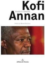 Monsieur Kofi Annan - Couverture - Format classique