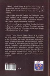 C'etait Versailles, 1940-1950 - 4ème de couverture - Format classique